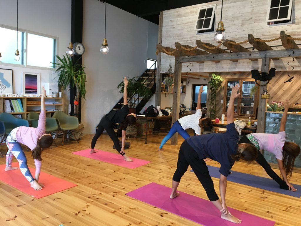 yoga work shop🌝