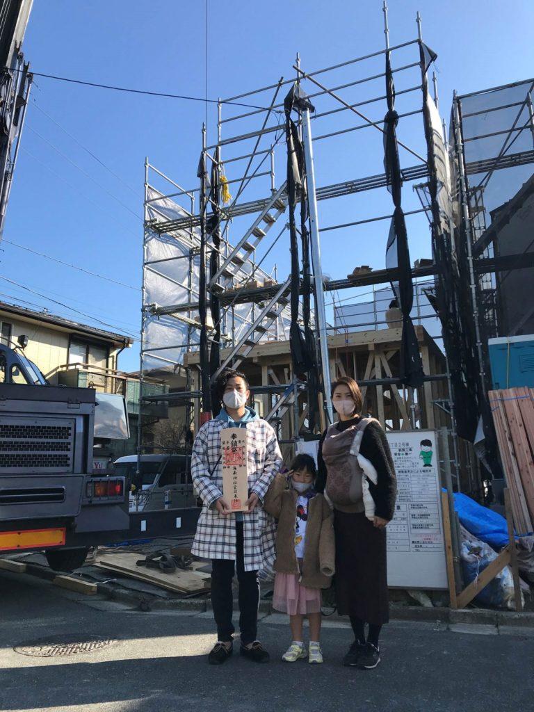 横須賀市M様邸 上棟🌞